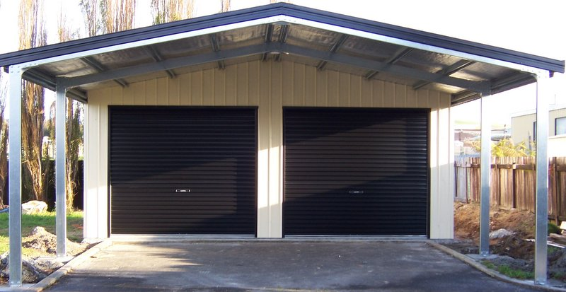 Shepparton garages and skillion roof sheds all