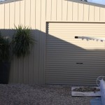 Sliding Door Garage Shed