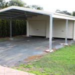 Roller Door Garage Shed