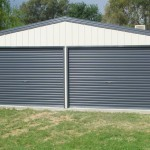 Double Door Garage Shed