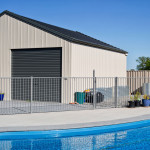Pool Garage Shed