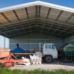 Farm Machine Storing Shed
