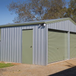 Twin Door House Shed